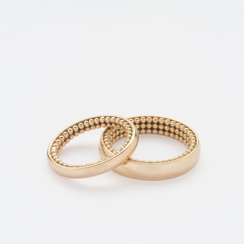 C&M Wedding rings - Woman ring - Cécil